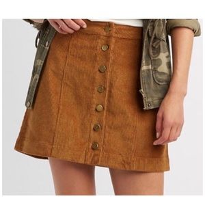 CR corduroy skirt 🍂